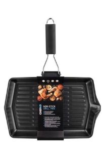 CHEF AID NON STICK GRILL/GRIDDLE PAN